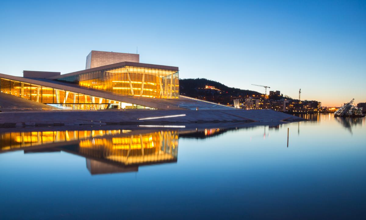 Bilde av Operaen i Oslo