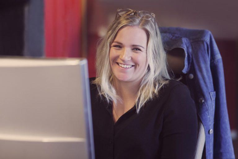 UX-designer Kamilla Emilie Davidsen